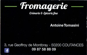 Fromagerie Coutances